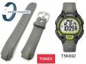 Pasek do zegarka Timex T5K692 gumowy szary