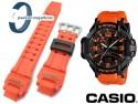 Pasek do zegarka Casio GA-1000 pomarańczowy