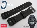 Pasek do zegarka Timex do modelu T5K202 gumowy czarny