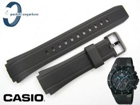 Pasek do Casio EF-552PB czarny sprzączka w kolorze czarnym