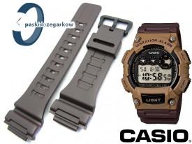 Pasek do Casio W-735 brązowy