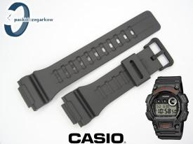 Pasek do zegarka Casio W-735 grafitowy