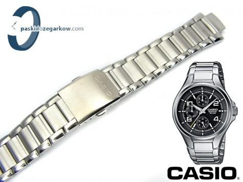 9102b1cf364a34 Bransoleta do zegarka Casio EF-316D stalowa - paskidozegarkow.com