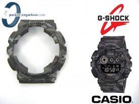 Bezel do Casio GA-100CM, GD-120CM, GA-100, GA-110, GD-100, GA-120, GD-120, G-8900, GD-110 moro szare