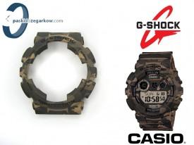 Bezel do Casio GA-100CM, GD-120CM, GA-100, GA-110, GD-100, GA-120, GD-120, G-8900, GD-110 moro zielone