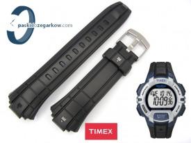 Pasek do zegarka Timex T5K791 gumowy, czarny