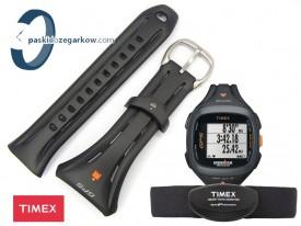 Pasek do zegarka Timex T5K742 gumowy czarny