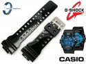 Pasek do Casio G-Shock G-8900, GR-8900A, GA-110, GA-110B czarny połysk sprzączka matowa