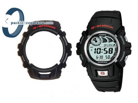 on sale 4464b 13ddf Bezel do zegarka Casio G-2900 czarny - paskidozegarkow.com