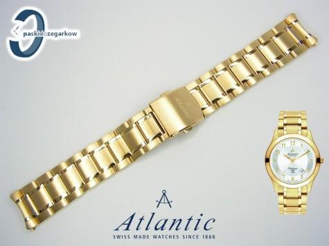 Bransoleta Atlantic Seahunter w kolorze złotym