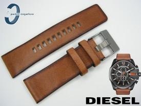 Pasek do DIESEL DZ4343 skórzany brązowy