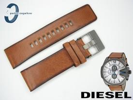 Pasek do DIESEL DZ4280 skórzany brązowy