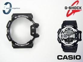 Bezel Casio GA-400-1A, GA-400 czarny matowy, białe napisy