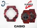 Bezel do Casio GD-120CM-4, GA-100CM-4 , GA-100, GA-110, GD-100, GA-120, GD-120, G-8900 moro czerwone