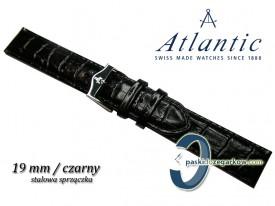 Pasek Atlantic 19mm czarny