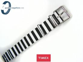 WEEKENDER parciany 18 mm jednoczęściowy czarno-biały