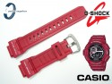 Pasek do Casio G-Shock G-9300RD-4, G-9300 czerwony