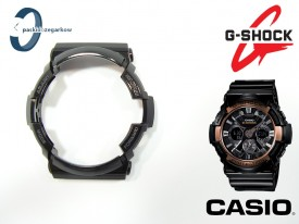 Bezel do Casio G-Shock GA-200RG-1A, GA-200 czarny połysk