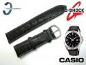Pasek do Casio MTP-1308L, MTP-1308 skórzany, czarny 22 mm