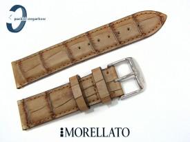 Pasek MORELLATO MODIGLIANI 20 mm skórzany jasny brąz