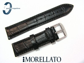 Pasek MORELLATO MODIGLIANI 20 mm skórzany czarny