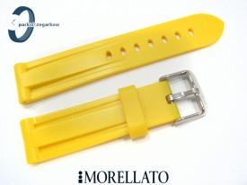 Pasek MORELLATO MARINER gumowy, żółty