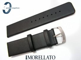 Pasek MORELLATO LARGE NAPPA 22 mm, skórzany, ciemny brąz
