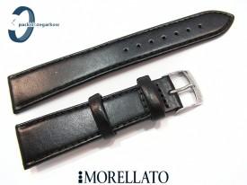 Pasek MORELLATO SYDNEY 20 mm skórzany czarny