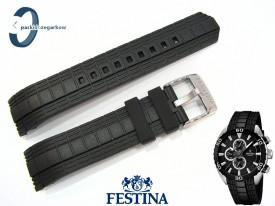 Pasek Festina F16664 gumowy czarny