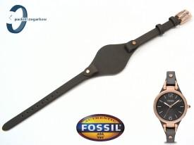 Pasek Fossil ES3077 ciemny brąz skórzany