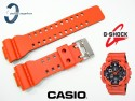 Pasek Casio GA-100L-4A, GA-100, GA-110, GA-300, GD-100, GD-120, GD-110, GA-120, G-8900 pomarańczowy matowy