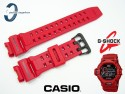 Pasek do Casio GW-9200RDJ-4, GW-9200, G-9200 czerwony