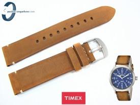 Pasek Timex TW4B01800 brązowy skórzany 20 mm
