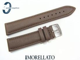 Pasek MORELLATO MUSA 20 brązowy skórzany