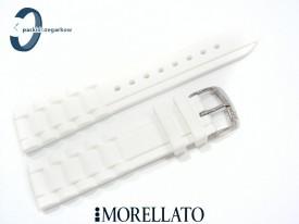 Pasek MORELLATO LENA silikonowy biały 20 mm
