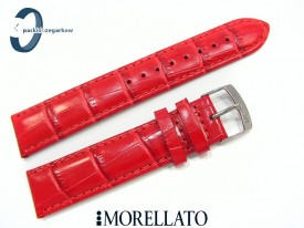 Pasek MORELLATO SAMBA skórzany czerwony