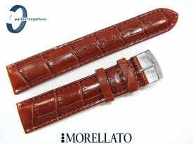 Pasek MORELLATO SAMBA skórzany średni brąz