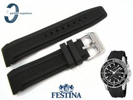 Pasek Festina F16561 gumowy czarny