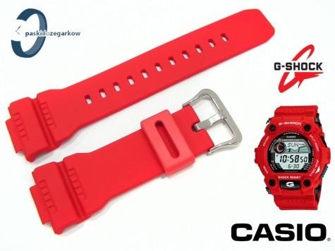 Pasek Casio G-Shock G-7900, GW-7900, G-7900A-4 czerwony matowy