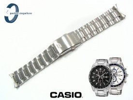 Bransoleta Casio EF-547D stalowa