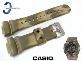 Pasek Casio GA-100MM-5A, GA-100MM, GA-100, GA-110, GA-120, GD-100, GD-110, GD-120 moro zielone