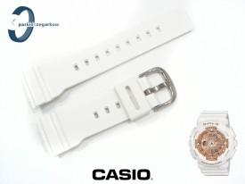 Pasek Casio Baby-G BA-110, BA-111, BA-112, BA-120, BA-125 biały połysk
