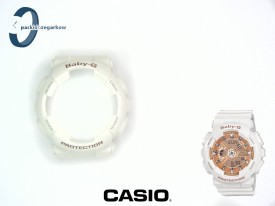 Bezel Casio Baby-G BA-110-7A1, BA-110 biały połysk
