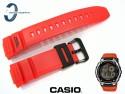 Pasek Casio AE-2100W-4, AE-2100 pomarańczowy