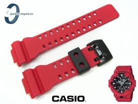 Pasek Casio GA-700-4A, GA-700, GA-710 czerwony matowy