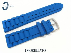 Pasek MORELLATO LENA silikonowy niebieski 22 mm