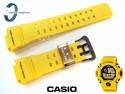 Pasek Casio GW-9430EJ-9, GW-9400 żółty carbonowy