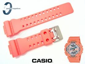 Pasek Casio GA-110DN-4A, GA-100, GA-110, GA-120, GAX-100, GD-100, GD-110, GD-120, GA-300, GAC-100, G-8900 koralowy matowy