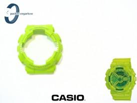 Bezel Casio GA-110B-3, GA-100, GA-110, GA-120, GD-100, GD-110, GD-120, GAX-100 limonkowy połysk
