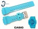 Pasek Casio GA-110B-2, GA-100, GA-110, GA-120, GD-100, GD-110, GD-120, GAX-100, GAC-100, G-8900 zielononiebieski połysk
